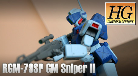 HG 1/144 RGM-79SP GM Sniper II – Review