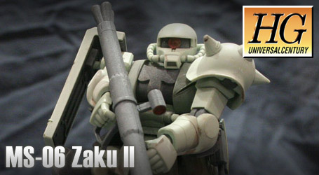 HG 1/144 MS-06 Zaku II – Review