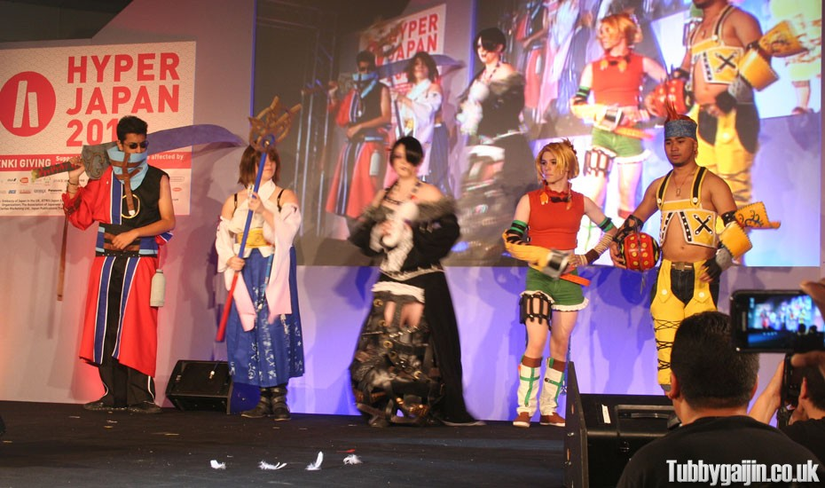 Hyper Japan 2011 - Square Enix Cosplay Battle