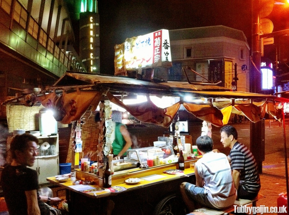Eating out, Yatai style!