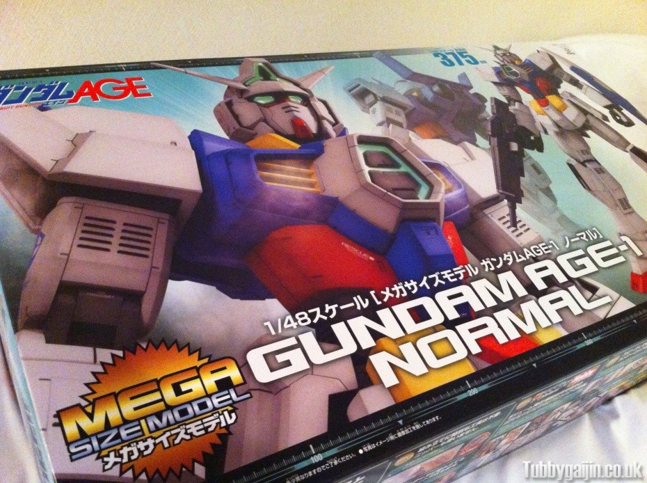 First Impressions - 1/48 Mega Size Gundam AGE-1 Normal