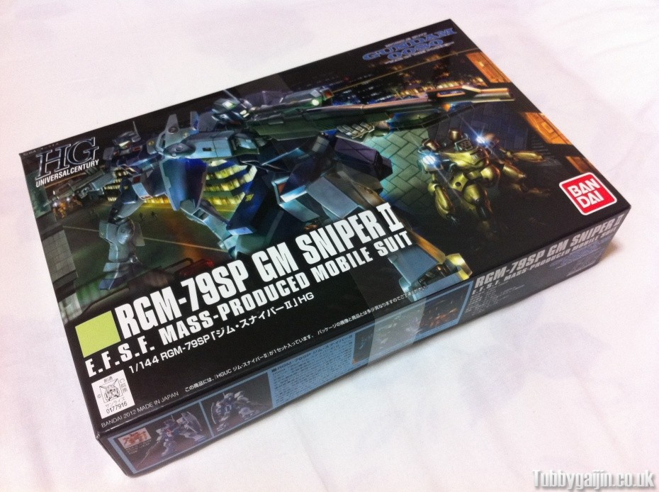 First Impressions - HG 1/144 RGM-79SP GM Sniper II