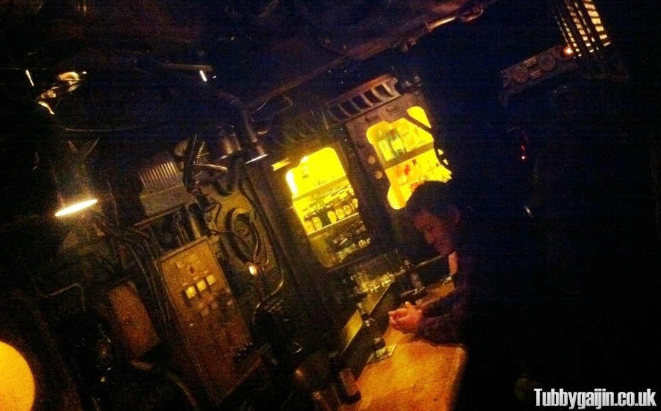 The Secret Submarine Bar
