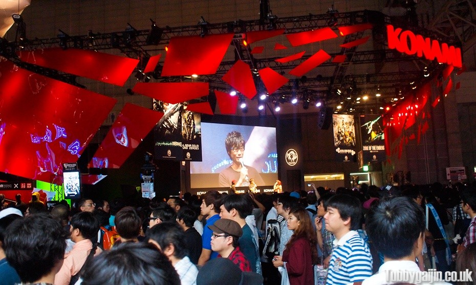 Tokyo Game Show 2012 - Konami booth - HIDEO!