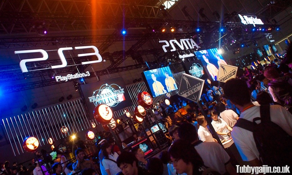 Tokyo Game Show 2012 - Sony Booth