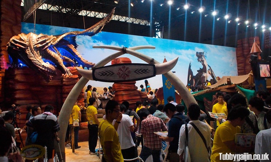 Tokyo Game Show 2012 - Capcom Booth - Monster Hunter
