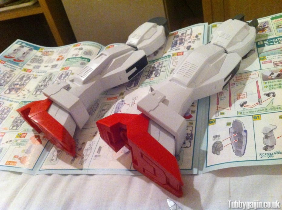 1/48 Mega Size Gundam AGE-1 Normal - Progress!