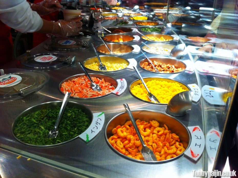 Stage 5 - Choose your soup and toppings