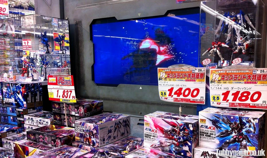 Osaka Gundams - New items display